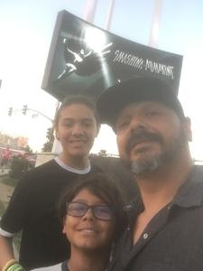 Alonso attended The Smashing Pumpkins: Shiny and Oh So Bright Tour - Alternative Rock on Aug 31st 2018 via VetTix