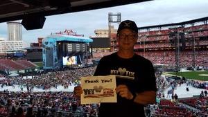 Brian attended Ed Sheeran: 2018 North American Stadium Tour - Pop on Sep 6th 2018 via VetTix