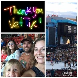 Cassondra attended Ed Sheeran: 2018 North American Stadium Tour - Pop on Sep 6th 2018 via VetTix