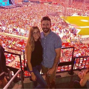 Derek attended Ed Sheeran: 2018 North American Stadium Tour - Pop on Sep 6th 2018 via VetTix