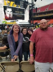 john attended Taylor Swift Reputation Stadium Tour - Pop on Sep 8th 2018 via VetTix