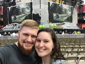 Rachel attended Taylor Swift Reputation Stadium Tour - Pop on Sep 8th 2018 via VetTix