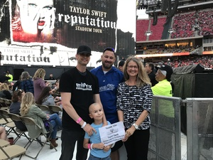 Travis attended Taylor Swift Reputation Stadium Tour - Pop on Sep 8th 2018 via VetTix