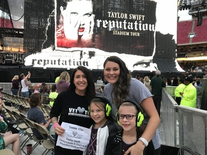 Melissa attended Taylor Swift Reputation Stadium Tour - Pop on Sep 8th 2018 via VetTix
