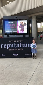 mikayla attended Taylor Swift Reputation Stadium Tour - Pop on Sep 8th 2018 via VetTix