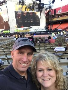 Scott Stanfield attended Taylor Swift Reputation Stadium Tour - Pop on Sep 8th 2018 via VetTix