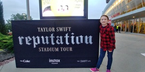 Ray attended Taylor Swift Reputation Stadium Tour - Pop on Sep 8th 2018 via VetTix