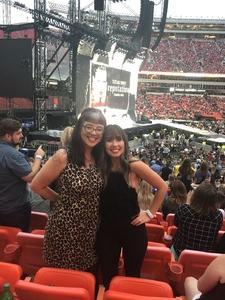 Violet Elaine Thomas attended Taylor Swift Reputation Stadium Tour - Pop on Sep 8th 2018 via VetTix