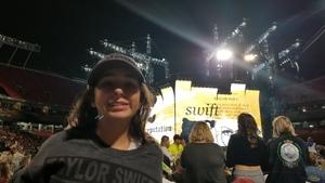 Edward attended Taylor Swift Reputation Stadium Tour - Pop on Sep 8th 2018 via VetTix