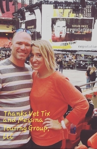 Josh attended Taylor Swift Reputation Stadium Tour - Pop on Sep 8th 2018 via VetTix