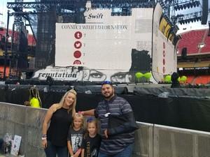 Joshua attended Taylor Swift Reputation Stadium Tour - Pop on Sep 8th 2018 via VetTix