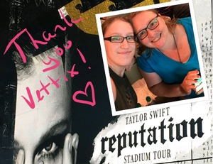 Jenn attended Taylor Swift Reputation Stadium Tour - Pop on Sep 8th 2018 via VetTix
