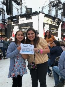 Cedric attended Taylor Swift Reputation Stadium Tour - Pop on Sep 8th 2018 via VetTix