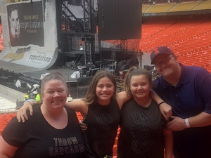 Paul attended Taylor Swift Reputation Stadium Tour - Pop on Sep 8th 2018 via VetTix