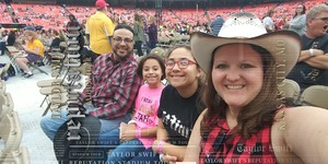 Carlos attended Taylor Swift Reputation Stadium Tour - Pop on Sep 8th 2018 via VetTix