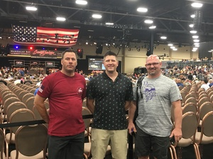 Ezra attended Barrett Jackson - the World's Greatest Collector Car Auction in Vegas - Tickets Are 2 for 1, So 1 Ticket Will Get 2 People in - Thursday on Sep 27th 2018 via VetTix