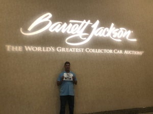 Alan attended Barrett Jackson - the World's Greatest Collector Car Auction in Vegas - Tickets Are 2 for 1, So 1 Ticket Will Get 2 People in - Saturday on Sep 29th 2018 via VetTix
