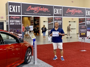 Frederick attended Barrett Jackson - the World's Greatest Collector Car Auction in Vegas - Tickets Are 2 for 1, So 1 Ticket Will Get 2 People in - Saturday on Sep 29th 2018 via VetTix