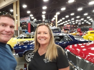Dees Family attended Barrett Jackson - the World's Greatest Collector Car Auction in Vegas - Tickets Are 2 for 1, So 1 Ticket Will Get 2 People in - Saturday on Sep 29th 2018 via VetTix