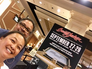 MICHAEL attended Barrett Jackson - the World's Greatest Collector Car Auction in Vegas - Tickets Are 2 for 1, So 1 Ticket Will Get 2 People in - Saturday on Sep 29th 2018 via VetTix