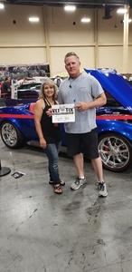 James attended Barrett Jackson - the World's Greatest Collector Car Auction in Vegas - Tickets Are 2 for 1, So 1 Ticket Will Get 2 People in - Saturday on Sep 29th 2018 via VetTix