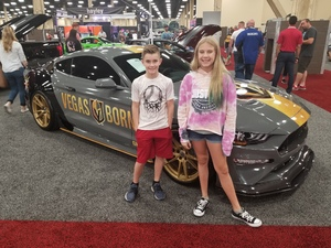 Justin attended Barrett Jackson - the World's Greatest Collector Car Auction in Vegas - Tickets Are 2 for 1, So 1 Ticket Will Get 2 People in - Saturday on Sep 29th 2018 via VetTix