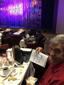 Jerry attended Altar Boyz - Thursday on Sep 6th 2018 via VetTix