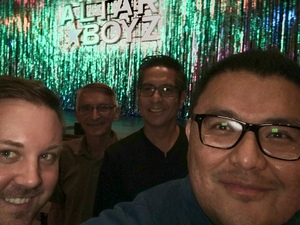 Derrick attended Altar Boyz - Thursday on Sep 6th 2018 via VetTix