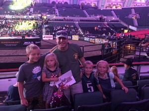 Chris attended 25th PBR Unleash the Beast - Sunday on Sep 16th 2018 via VetTix
