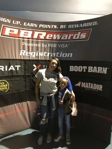 Jonella attended 25th PBR Unleash the Beast - Sunday on Sep 16th 2018 via VetTix