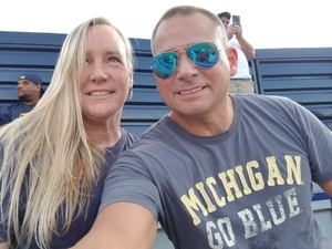 Dean attended University of Michigan Wolverines vs. SMU Mustangs - NCAA Football on Sep 15th 2018 via VetTix