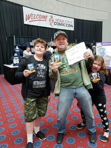 eric attended Rose City Comic Con - Weekend Passes on Sep 7th 2018 via VetTix