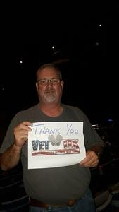 johnny attended Rascal Flatts: Back to US Tour 2018 - Country on Sep 13th 2018 via VetTix