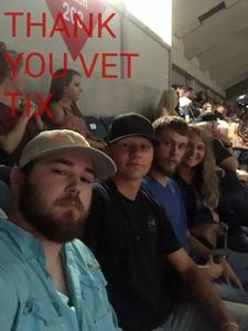 Jennifer attended Jason Aldean - Concert for the Kids - Country on Sep 6th 2018 via VetTix
