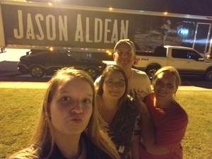 George attended Jason Aldean - Concert for the Kids - Country on Sep 6th 2018 via VetTix