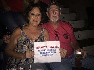 Donnie attended Jason Aldean - Concert for the Kids - Country on Sep 6th 2018 via VetTix