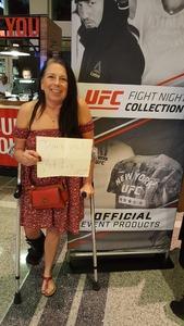 Joy attended UFC 228 - Mixed Martial Arts on Sep 8th 2018 via VetTix