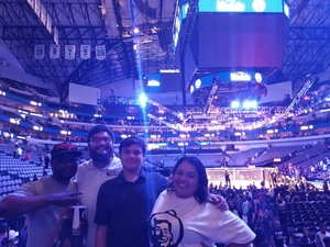 Genevieve attended UFC 228 - Mixed Martial Arts on Sep 8th 2018 via VetTix