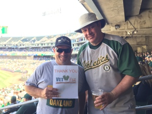 STEVE attended Oakland Athletics vs. Texas Rangers - MLB on Sep 9th 2018 via VetTix