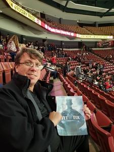 Richard attended Utah Grizzlies vs. Rapid City - ECHL - Home Opener - Regular Tickets on Oct 12th 2018 via VetTix