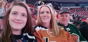 Charles attended Utah Grizzlies vs. Rapid City - ECHL - Home Opener - Regular Tickets on Oct 12th 2018 via VetTix