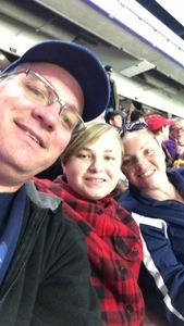 Kenneth attended Utah Grizzlies vs. Rapid City - ECHL - Home Opener - Regular Tickets on Oct 12th 2018 via VetTix