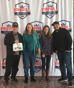 James attended Pfl9 - 2018 Playoffs - Tracking Attendance - Live Mixed Martial Arts - Presented by Professional Fighters League on Oct 13th 2018 via VetTix
