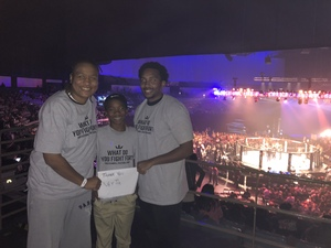 Andrea attended Pfl9 - 2018 Playoffs - Tracking Attendance - Live Mixed Martial Arts - Presented by Professional Fighters League on Oct 13th 2018 via VetTix