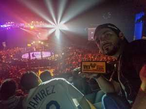Juan attended Pfl9 - 2018 Playoffs - Tracking Attendance - Live Mixed Martial Arts - Presented by Professional Fighters League on Oct 13th 2018 via VetTix