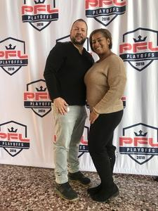 Armindo attended Pfl9 - 2018 Playoffs - Tracking Attendance - Live Mixed Martial Arts - Presented by Professional Fighters League on Oct 13th 2018 via VetTix