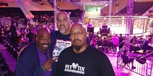 Devery attended Combate Americas - Live Mixed Martial Arts - Presented by Combate Americas on Sep 28th 2018 via VetTix