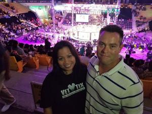 Michelle attended Combate Americas - Live Mixed Martial Arts - Presented by Combate Americas on Sep 28th 2018 via VetTix