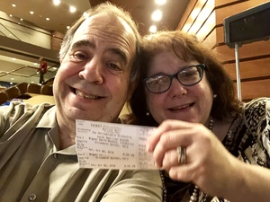 Edward attended South American Sounds - Presented by the Philadelphia Orchestra on Oct 6th 2018 via VetTix