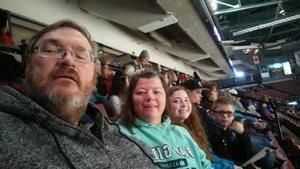 David attended Utah Grizzlies vs. Wichita Thunder - ECHL - Regular Tickets on Jan 5th 2019 via VetTix